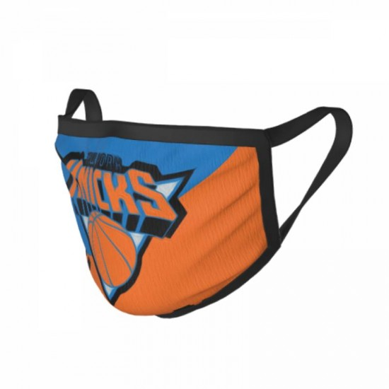Sun protection New York Knicks Adult black border face masks #320602 Suitable for Exercise, Cycling